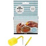 Creotime 13122 Ostereier blasen - Fix zum einfachen Ausblasen von Ostereiern