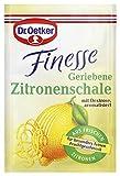 Dr. Oetker Finesse Geriebene Zitronenschale, 3 x 6 g