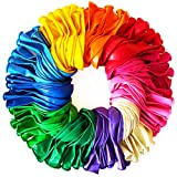 Funny Papi Luftballons Groß - 30,5 cm Hochzeit Bunt, für Luft & Helium - 110 Ballons Latex in 11 Party Farben, Luftballon für Geburtstag & Kindergeburtstag