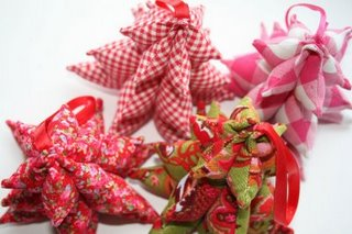 DIY genähte 3D Weihnachtsbäumchen | Weihnachtsbäume selber nähen | waseigenes.com