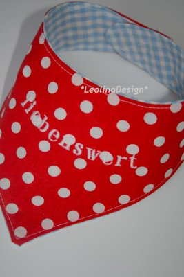 "DIY Halstuch nähen | Bestickt mit ""liebenswert"" | waseigenes.com DIY Blog"