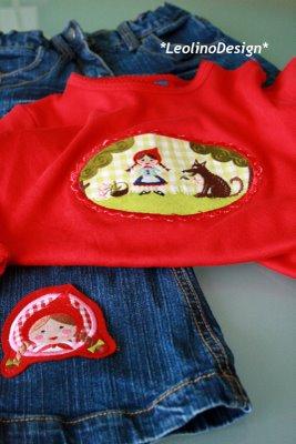 Bestickte Kleidung Rotkäppchen waseigenes.com