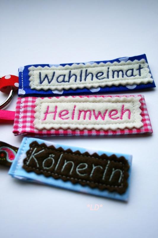 DIY Schlüsselanhänger | Wahlheimt, Heimweh, Kölnerin | waseigenes.com
