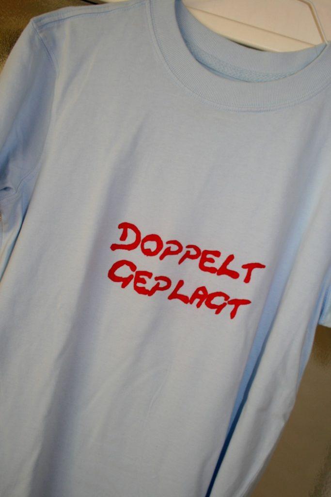 DIY Geschenke | T'shirt Doppelt geplagt | waseigenes.com