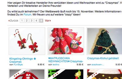 crazymas Dawanda | Matrjoschka Weihnachtsbaum | waseigenes.com