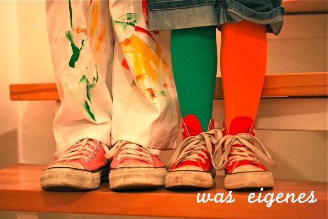 Karneval, Pipi Langstrumpf und Maler | bench monday | waseigenes.com