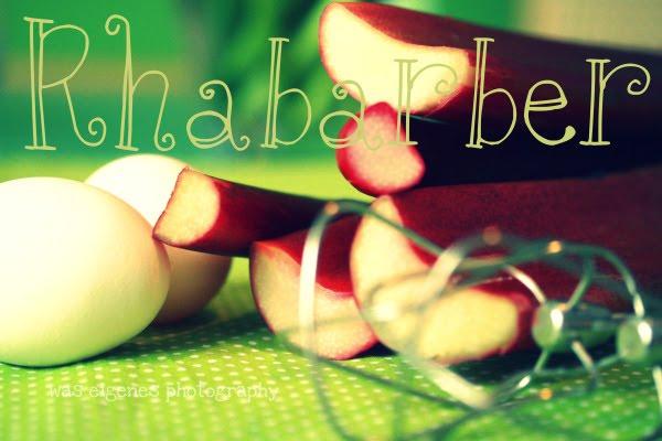 Rezept: Rhabarberkuchen mit Baiserhaube | waseigenes.com
