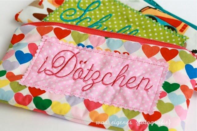 Federmäppchen | Schulkind | i Dötzchen | waseigenes.com Blog & Shop