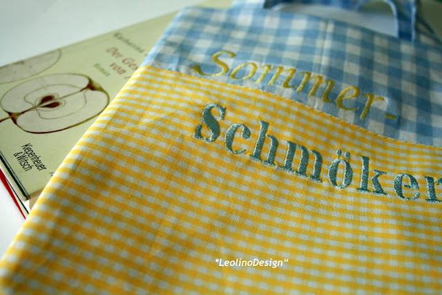 Buchtasche | Sommerschmöker |  www.waseigenes.com