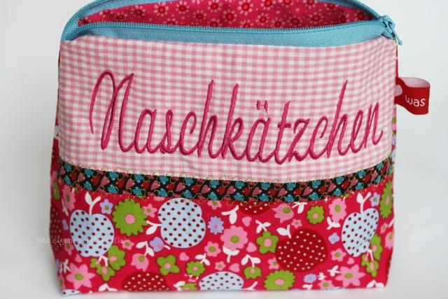 Schminktäschchen waseigenes.com Naschkätzchen | Geschenkidee | waseigenes.com DIY Blog