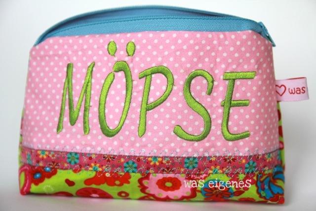 Möpse | Schminktäschchen | was eigenes Shop & Blog