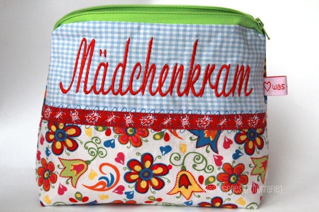 Schminktäschchen Mädchenkram | was eigenes Shop & Blog