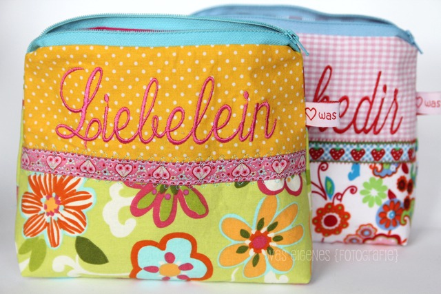 Rheinische Mundart | Schminktäschchen | Worttäschchen | Schätzlein Schätzeken Liebelein | was eigenes Shop & Blog