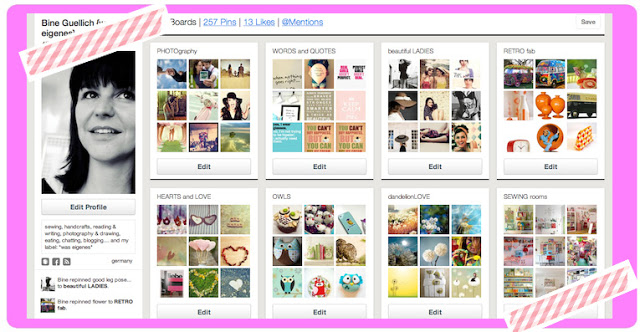 Mein Pinterest Profil | Pin it, Baby! Ich liebe Pinterest! waseigenes.com DIY Blog
