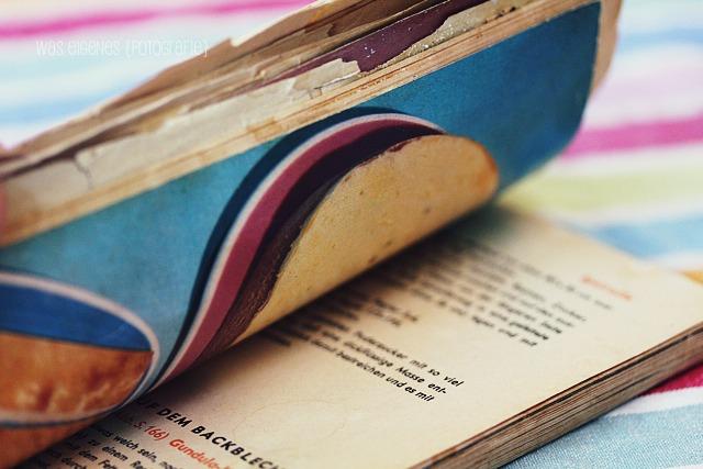 Rezept: Weltbester Marmorkuchen | waseigenes.com | Dr Oetker Backbuch von 1967