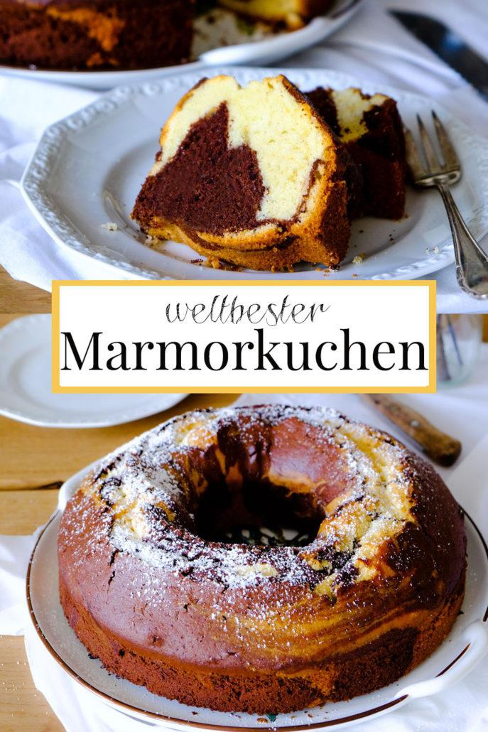 Weltbester Marmorkuchen! Hier mein gelingsicheres Rezept: unser all-time-favourite Marmorkuchen, waseigenes.com