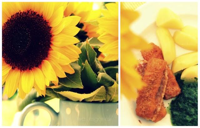 Sonneblume & Fischstäbchen | waseigenes.com