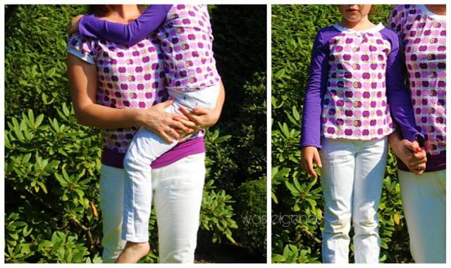 Antonia Schnittmuster | Shirts selbernähen | Apfeljersey | Mama & Kind | was eigenes Blog