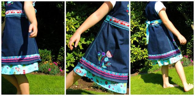 Kleid Einschulung Arwen