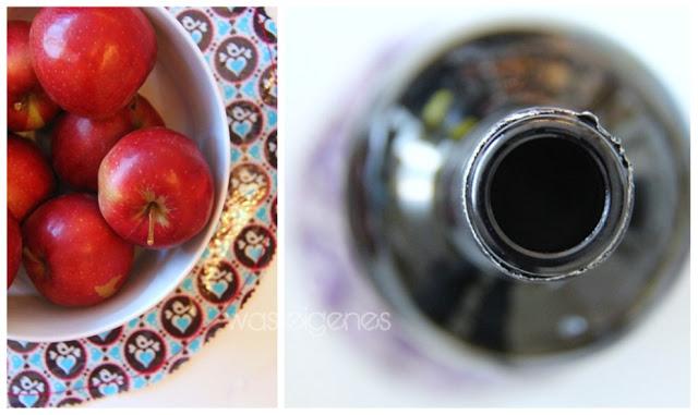 Tisch Untersetzer nähen | Stoff laminieren & beschichten mit iron on vinyl Folie | waseigenes.com