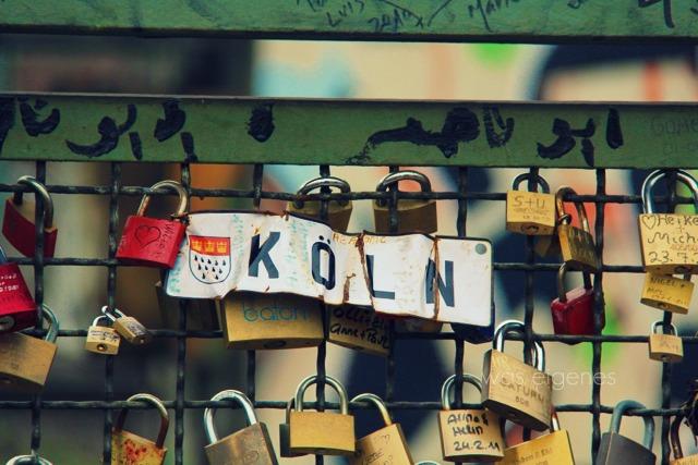 Köln | Kölner Liebeschlösser | Hohenzollernbrücke | waseigenes.com Blog