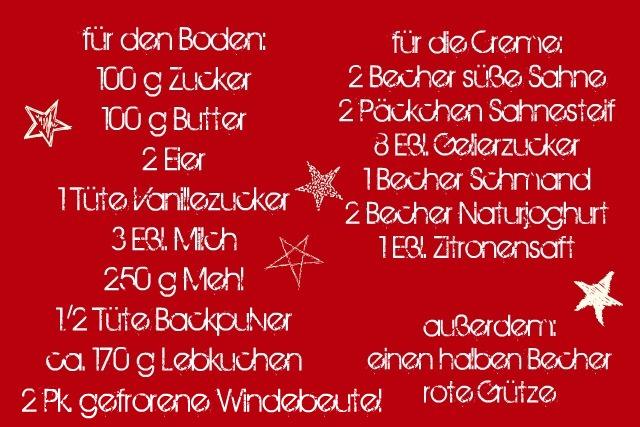 Rezept: Weihnachtliche Windbeuteltorte | was eigenes Blog