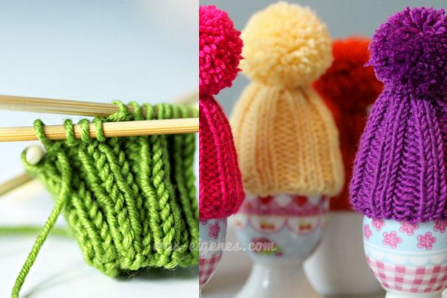 Eierwärmer Stricken Eine Mütze Fürs Sonntagsei