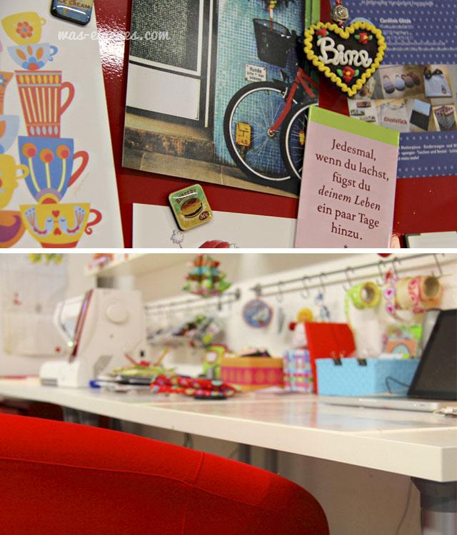 Hinter den Kulissen  von waseigenes.com | Mein Büro, meine Kellerwerkstatt | waseigenes.com