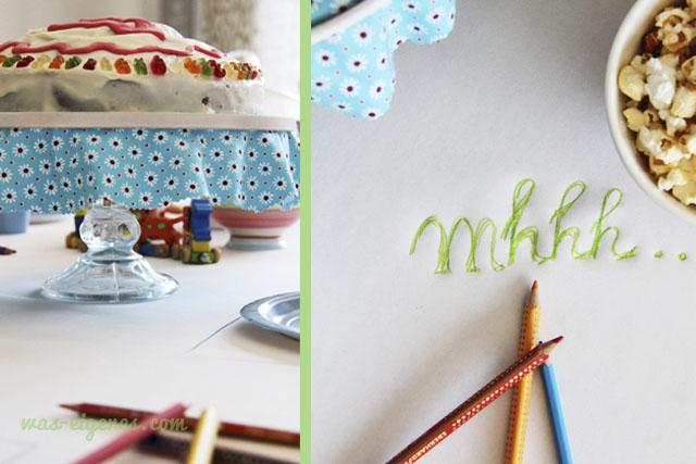 Thomas Lok | Thomas und seine Freunde | Geburtstag | Cupcakes und Gummibärchenkuchen | waseigenes.com