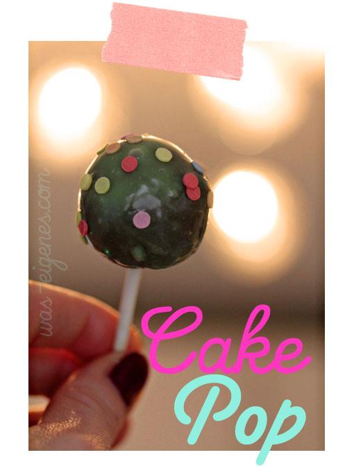 Cake Pops | waseigenes.com Blog