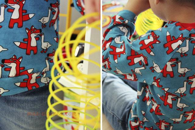 Raglan Shirt | Fuchs du hast die Gans | Jungsshirt selbernähen | was eigenes Blog