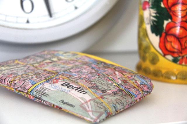 DIY Serviettentäschchen | Ein Täschchen nähen aus laminierten Servietten | waseigenes.com DIY Blog