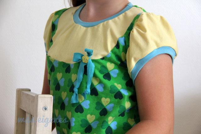 Schnittmuster Lina Shirt | Klee Jersey Hamburger Liebe | waseigenes.com