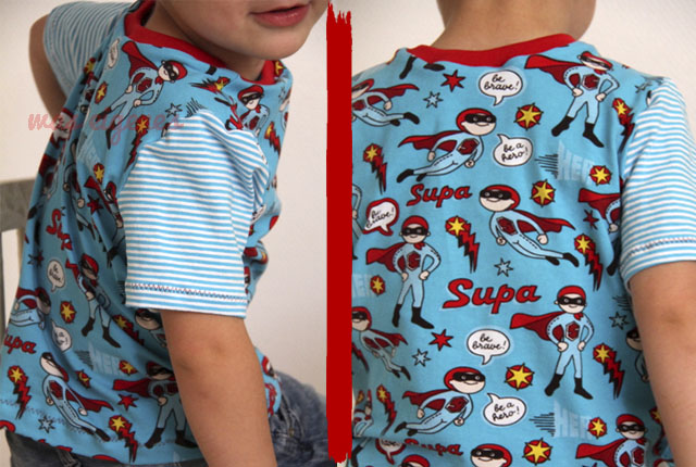 Jungs Shirt Supahero | waseigenes.com DIY Blog