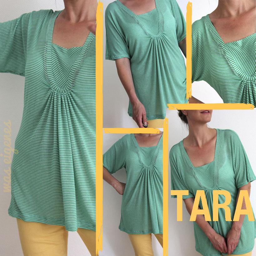 Tara Shirt | selbernähen | Schnittmuster | waseigenes.com