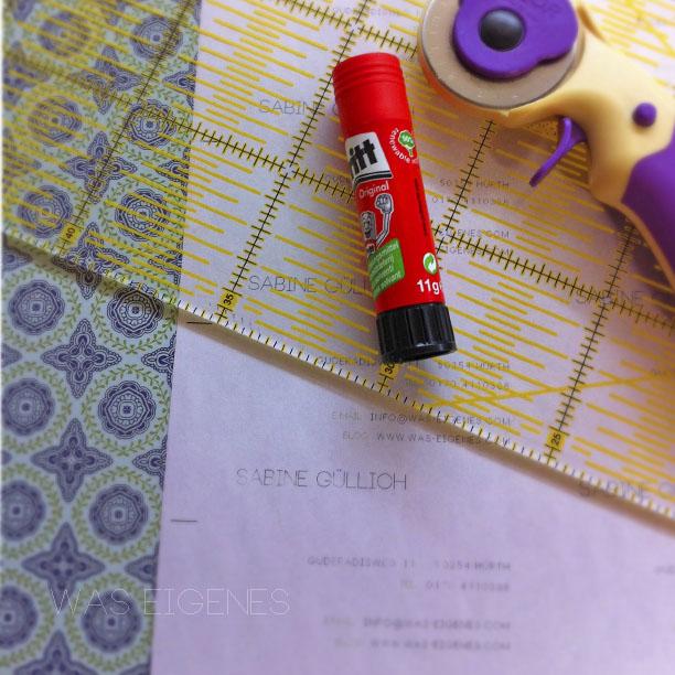 DIY Visitenkarten selber machen | waseigenes.com DIY Blog