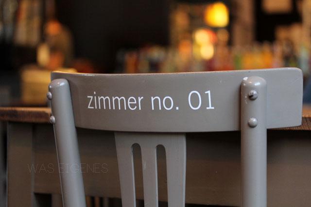 Café & Bar: Zimmer No. 1 Düsseldorf | waseigenes.com