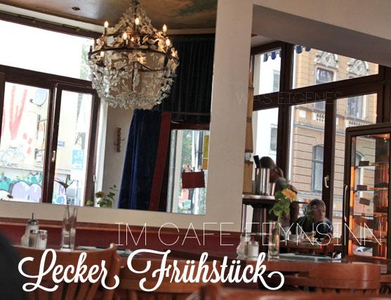 Frühstücken in Köln: Café Feynsinn am Rathenauplatz | waseigenes.com
