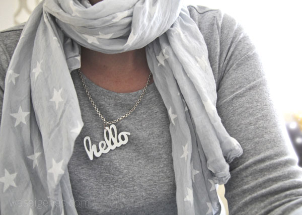 DIY Halskette | Shrinky Dinks | Schrumpffolie | was eigenes Blog - hello