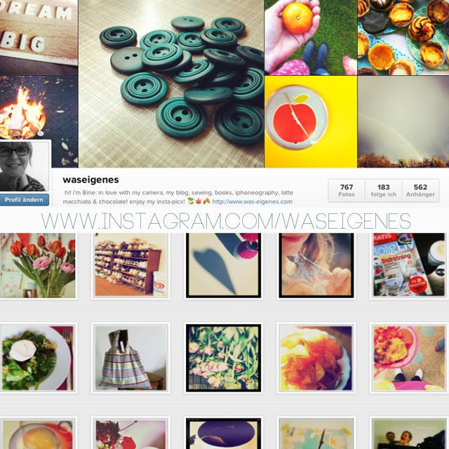 Social media Kanäle | Instagram | was eigenes bei Instagram | waseigenes.com DIY Blog