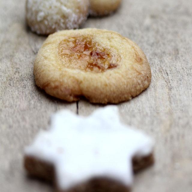 Engelsaugen | Weihnachtsbäckerei | Plätzchen | was eigenes Blog