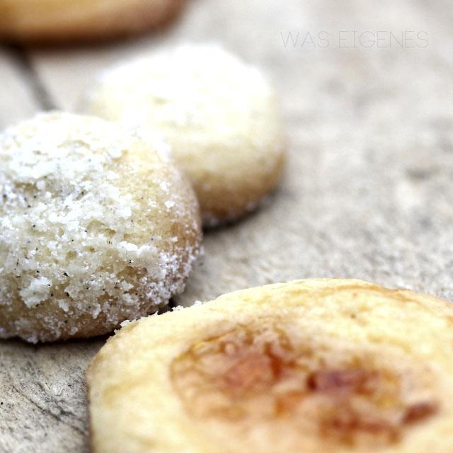 Vanillekugeln | Weihnachtsbäckerei | Plätzchen | was eigenes Blog