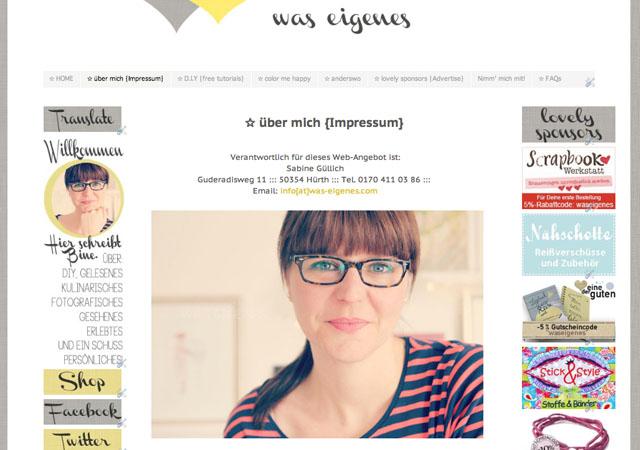 blog was eigenes 1