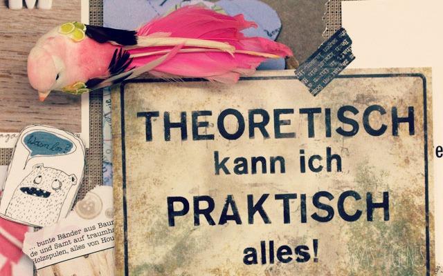 Staune, Homo Creativus! | Kreativität | Theoretisch kann ich praktisch alles! | waseigenes.com