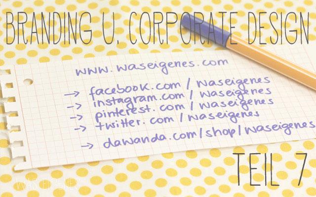 aus dem leben einer online shopbetreiberin corporate design