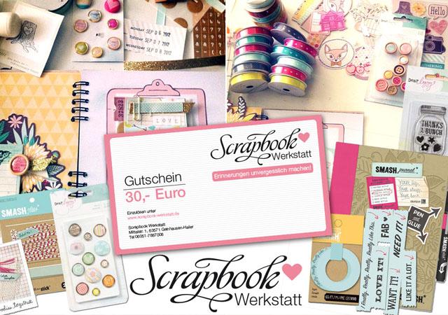 Lovely Sponsor Giveaway | waseigenes.com | Scrapbook Werkstatt