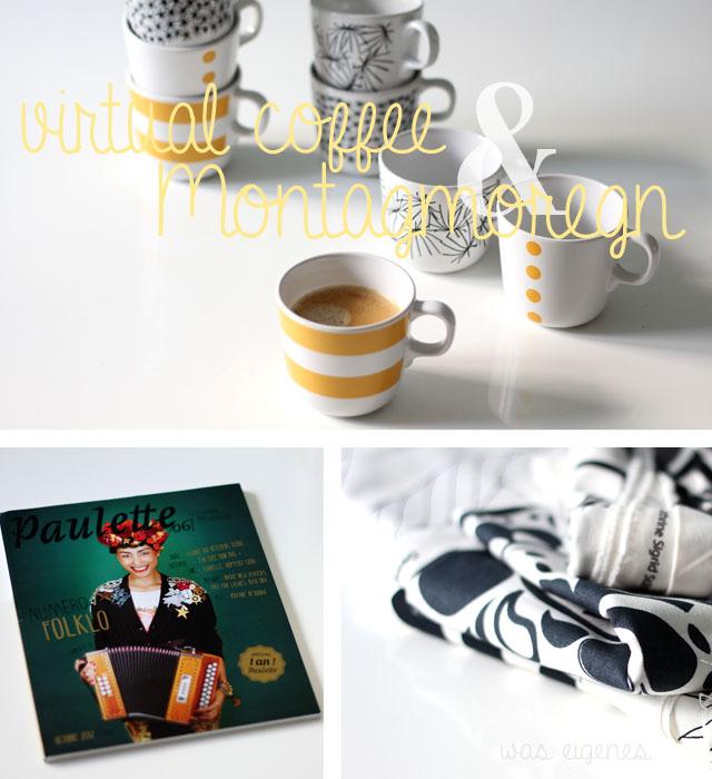 virtual coffee montagmorgen