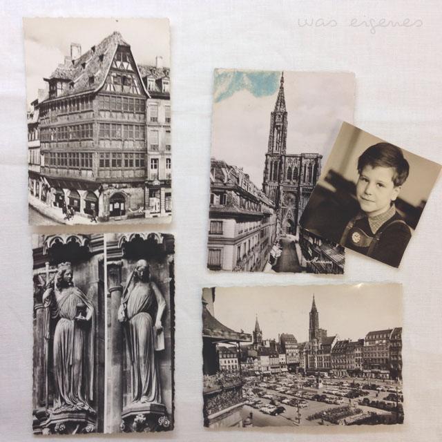 alte postkarten strassburg was eigenes