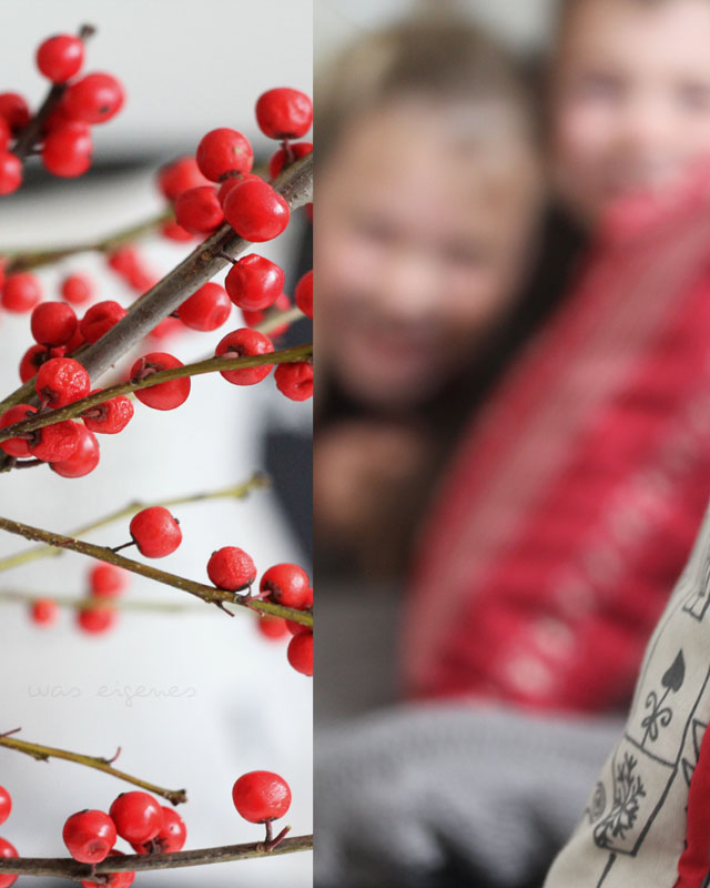 Weihnachtliche Sofakissen | selbernähen | DIY | waseigenes.com