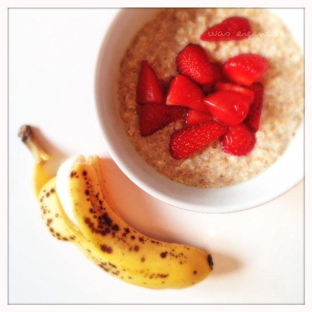 12v12 im Mai 2014 was eigenes Blog 1 porridge erdbeeren banane